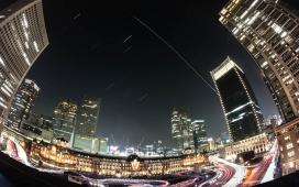 6923899-city-fisheye-timeline-view