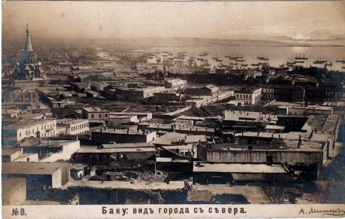 Баку._Вид_с_севера.Фото-А._Мишон_1898